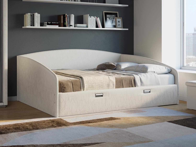 Кровать машина с матрасом купить недорого